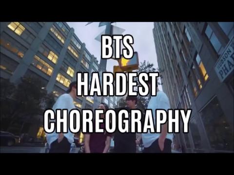 BTS (Bangtan Boys) HARDEST CHOREOGRAPHY ( 2017 )