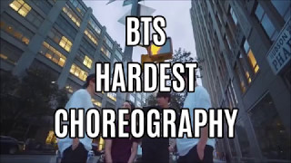 BTS (Bangtan Boys) HARDEST CHOREOGRAPHY ( 2017 ) MP3