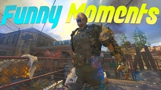 BLACK OPS 3 ZOMBIES FUNNY MOMENTS - NoahJ456 Clutch, EE4C Clutch, RAGES, World Record Fails, & More