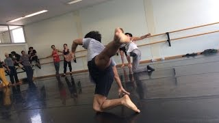 Contemporary Dance Class Part 2 by Yeri Anarika
