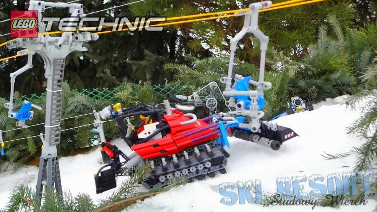 LEGO SKI RESORT Technic SnowGroomer PowerFunctions