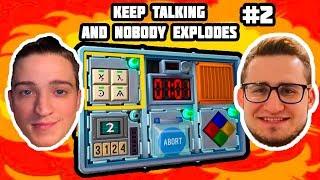 ОЛЕГ, что ты НАДЕЛАЛ? Олег кофи ВЗРЫВАЕТ мне БОМБЫ в Keep Talking and Nobody Explodes! #2