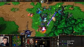 Focus (Orc) vs 120 (UD) - Concealed Hill - WarCraft 3 - WC2549