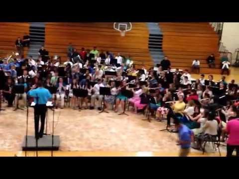 North Hardin High School Mega-band 2014