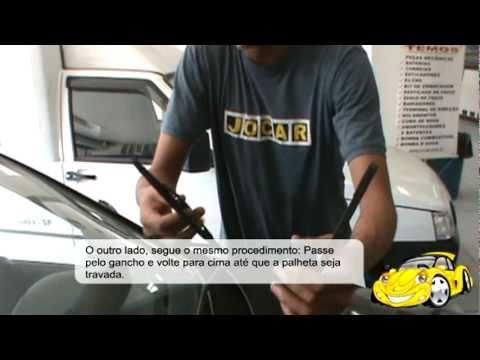 Honda Fit Lx >> Aula do Joquinha - Como trocar o limpador de para-brisa - YouTube