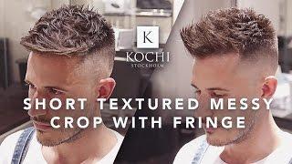 男士髮型風格:短髮 Short | Hairstyle For Men