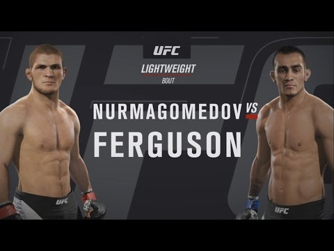 EA Sports UFC 2 - Хабиб Нурмагомедов против Тони Фергюсона
