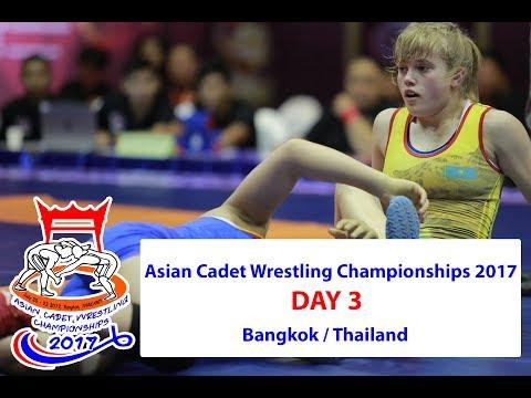 Day 3 -  Asian Cadet Wrestling Championship 2017