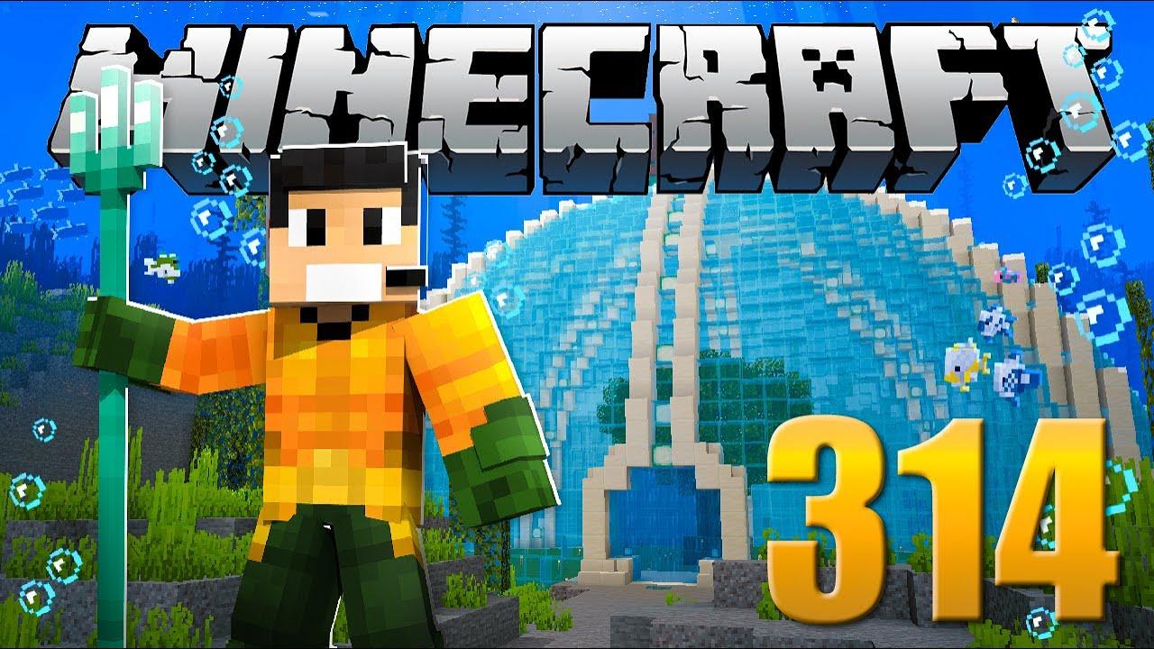 Aquaman do Esgoto | O Filme | - Minecraft Em busca da casa automática #314