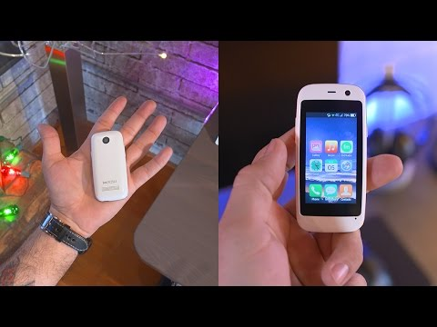 Smallest smartphone in the world!