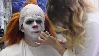 "Образ Пеннивайза из фильма ""ОНО""/Грим/Pennywise/ How we made 'IT'"