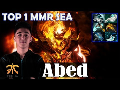 Abed - Shadow Fiend MID | TOP 1 SEA MMR vs Iceiceice (WK) | Dota 2 Pro MMR Gameplay