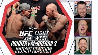 Fight Week: Dustin Poirier V Conor McGregor Trilogy Is Official!