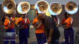 Mundys Mill v.s. Landry Walker High School - Tuba Battle - 2016