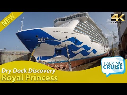 Dry Dock Discovery - Royal Princess Cruise Ship