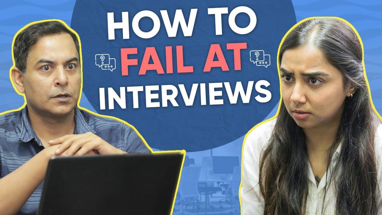 How to Fail At Interviews ft. Gaurav Gera   MostlySane