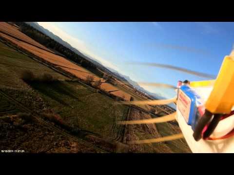 Super Alula 1.4 flight envelope testing part. 2