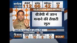 Karnataka election result 2018: BJP leader Sambit Patra feels BJP will win upto 120 seats