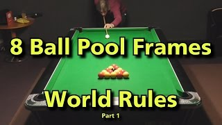 English 8 Ball Pool (Bunch of frames) Part 1