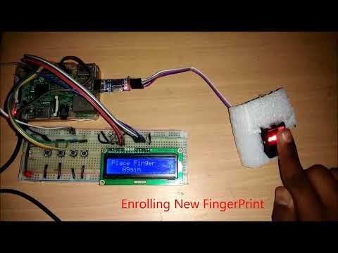 How to Connect Fingerprint Sensor Module with Raspberry Pi