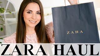 ZARA HAUL & TRY ON! Spring 2017