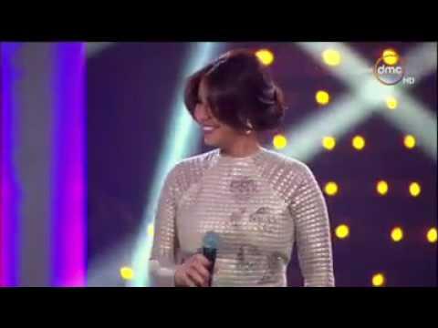 أغنية مشاعر Live  شيرين عبد الوهاب من حفلة انطلاق قناة Dmc TV