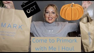 OCTOBER COME TO PRIMARK WITH ME/HAUL - Tanya Louise