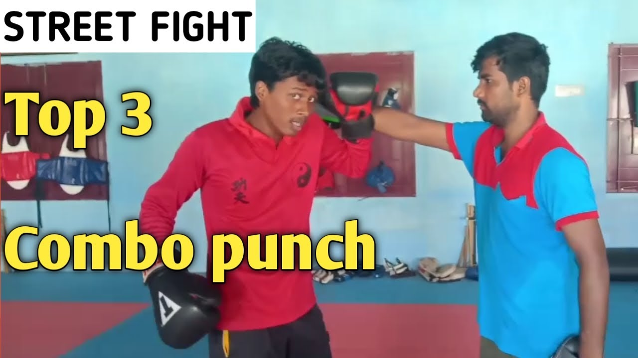 Basic boxing combo | Top 3 Techniques