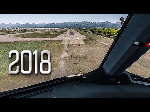 New Flight Simulator 2018 - P3D 4.1 [Spectacular Realism]