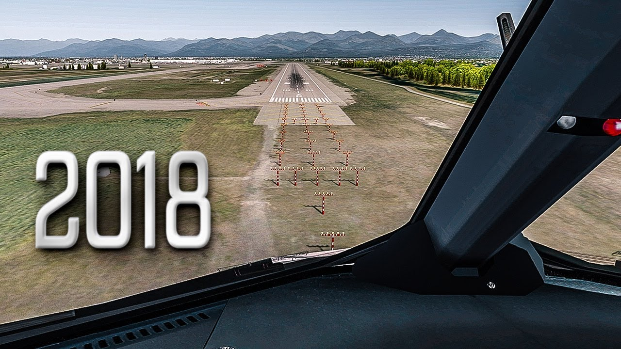 New Flight Simulator 2018