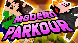 Minecraft - Modern Parkour [CSINÁLD CEBI!!!]