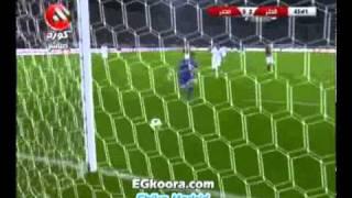 اهداف مباراة مصر وقطر 1-2