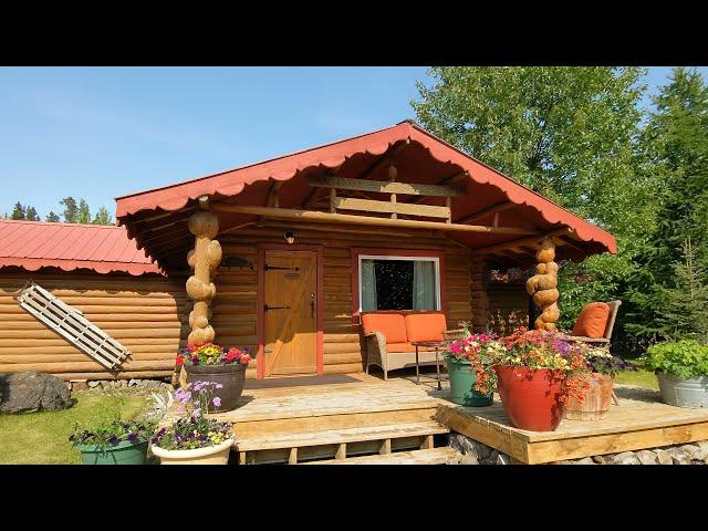 Wrangell-St. Elias N.P., Alaska - Ultima Thule Lodge room tour 2021 Jul. 04