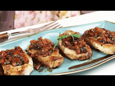 Quick Fix Tuscan Pork Chops | Southern Living