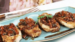 How To Make Quick & Easy Tuscan Pork Chops | Southern Living