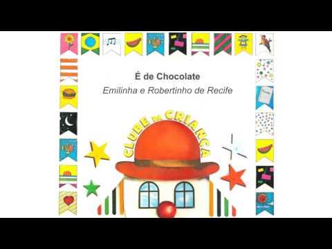 LP Clube da Criança :: É De Chocolate - Emilinha e Robertinho de Recife :: 1984