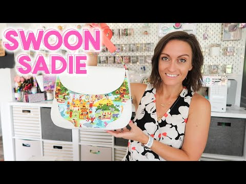 Making The Coolest Crossbody! Full Tutorial for The Sadie Pattern by Swoon!
