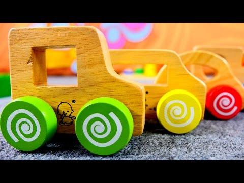 Развивающие мультики: Машинки и Паровозики. Цвета для детей. Игрушки и Игры для малышей.