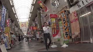 阪急十三駅の東側の商店街