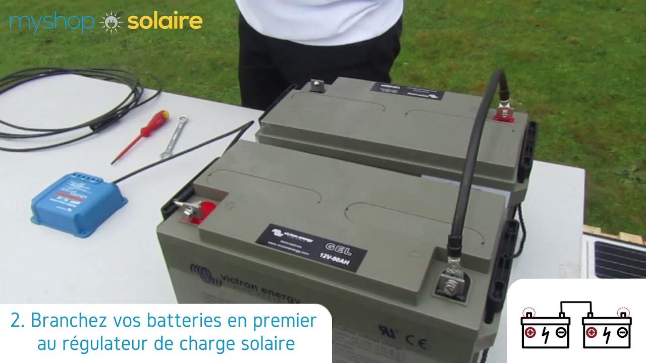 MyShop Solaire - Montage d'un kit solaire 300W autonome +