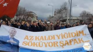 Ak Parti Osmangazi Gençlik Kolları Miting Yürüyüşü