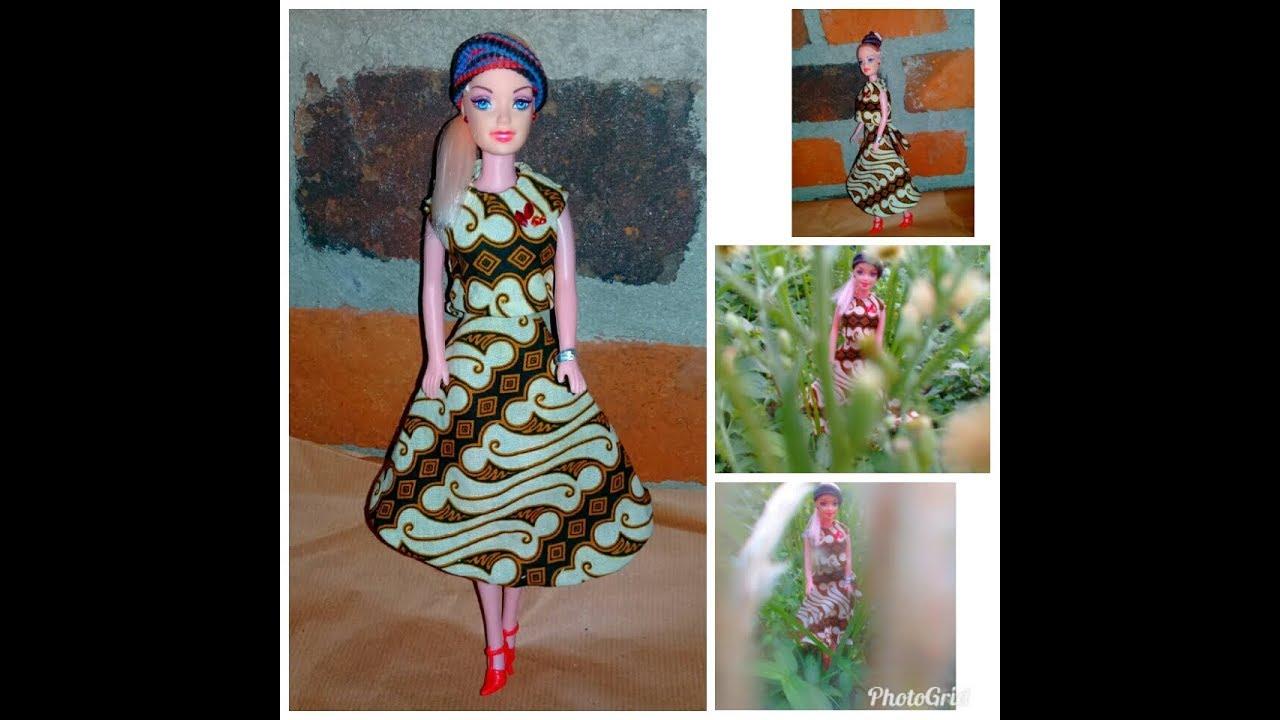 Cara Membuat Baju Boneka Barbie Dari Kain Perca