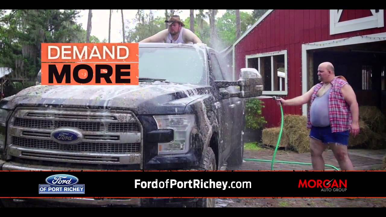 Work Hard Play Hard Extended Truck Month Ford F150 Commercial