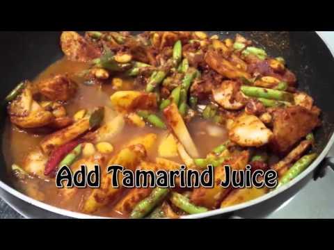 Malaysia Salt Fish Curry Karuvodu Kolambu (Salt Fish Curry) In Just 20 Minutes