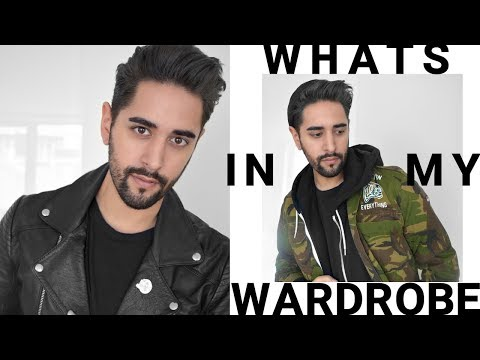 What's In My Wardrobe - Men's Style Fashion ootd Guide 2017 Puma, Adidas, Asos & More ✖ James Welsh