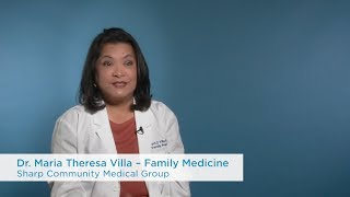 Dr. maria theresa villa is a san diego family medicine doctor affiliated with sharp healthcare. to learn more about villa, visit https://www.sharp.com/sa...