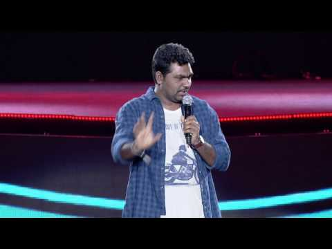 Zakir Khan @ YouTube FanFest India 2017