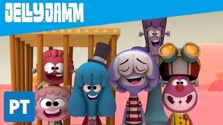 Jelly Jamm Português. Monstro do Tédio (T2 - EP62) Desenhos animados em português completos