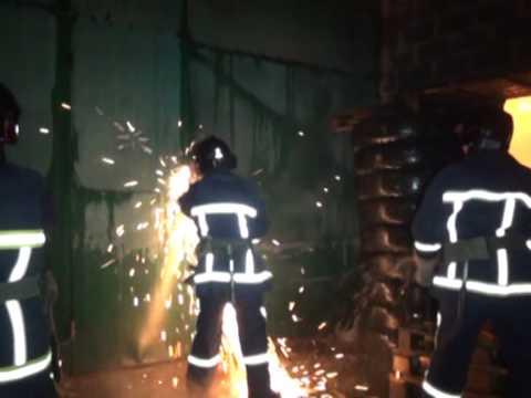 Пожежа складського  приміщення в м. Івано Франківську