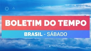 Previsão Brasil - Temporais pelo país